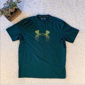 Men's XL Green Under Armour T-Shirt